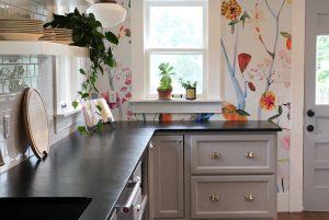 Útulný dizajn kuchyne
