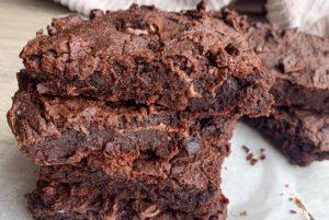 Fazulove brownies s orechami